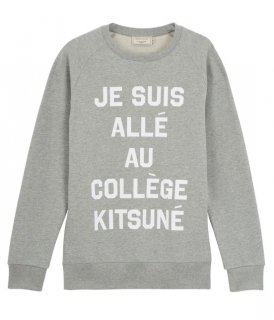 <img class='new_mark_img1' src='//img.shop-pro.jp/img/new/icons16.gif' style='border:none;display:inline;margin:0px;padding:0px;width:auto;' />MAISON KITSUNE MENS SWEAT PERM JE SUIS ALLE メゾンキツネ ジュスイキツネ スウェット