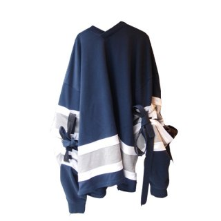 <img class='new_mark_img1' src='//img.shop-pro.jp/img/new/icons16.gif' style='border:none;display:inline;margin:0px;padding:0px;width:auto;' />Y/PROJECT OVERSIZED ELBOW TIE FOOTBALL SWEAT ワイプロジェクト スウェット