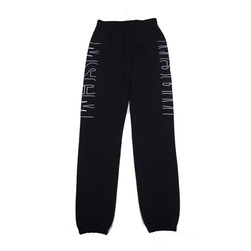 <img class='new_mark_img1' src='//img.shop-pro.jp/img/new/icons16.gif' style='border:none;display:inline;margin:0px;padding:0px;width:auto;' />MSGM MENS LOGO SWEAT PANTS エムエスジーエム ロゴ スウェットパンツ