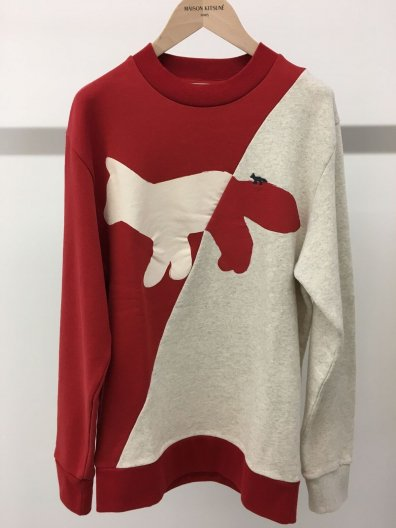 ご予約★MAISON KITSUNE WALKING FOX  スウェット