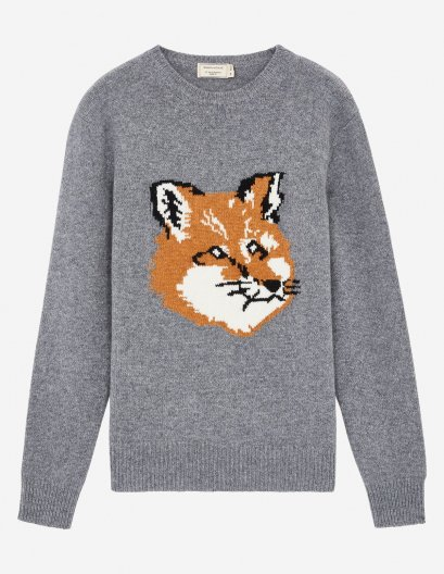 <img class='new_mark_img1' src='//img.shop-pro.jp/img/new/icons16.gif' style='border:none;display:inline;margin:0px;padding:0px;width:auto;' />MAISON KITSUNE FOX HEAD PULLOVER メゾンキツネ フォックスヘッドプルオーバー
