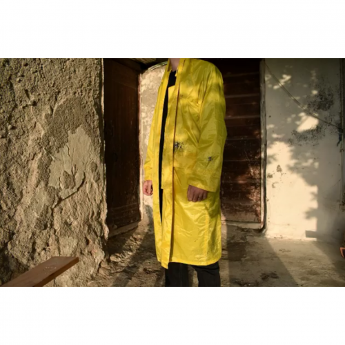 <img class='new_mark_img1' src='//img.shop-pro.jp/img/new/icons16.gif' style='border:none;display:inline;margin:0px;padding:0px;width:auto;' />SERAPIS rain coat Aura Yellow セラピス レインコート