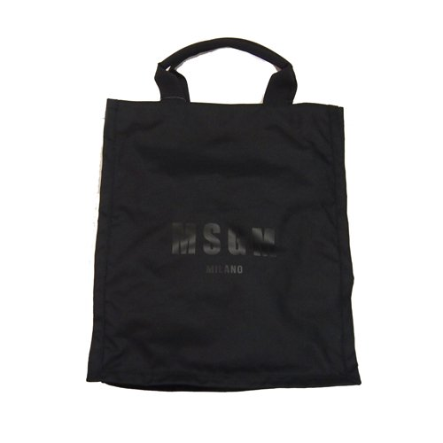 <img class='new_mark_img1' src='//img.shop-pro.jp/img/new/icons16.gif' style='border:none;display:inline;margin:0px;padding:0px;width:auto;' />MSGM LOGO TOTE BAG エムエスジーエム ロゴ トートバッグ