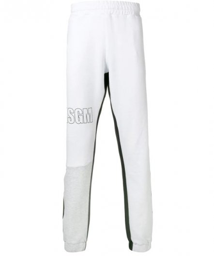 <img class='new_mark_img1' src='https://img.shop-pro.jp/img/new/icons16.gif' style='border:none;display:inline;margin:0px;padding:0px;width:auto;' />MSGM MENS LOGO SWEAT PANTS エムエスジーエム ロゴ スウェットパンツ