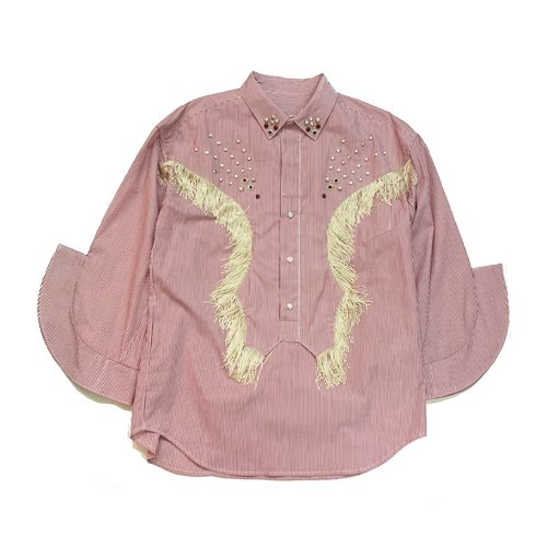 <img class='new_mark_img1' src='https://img.shop-pro.jp/img/new/icons16.gif' style='border:none;display:inline;margin:0px;padding:0px;width:auto;' />TOGA PULLA Cotton western shirt トーガプルラ コットンウェスタンシャツ