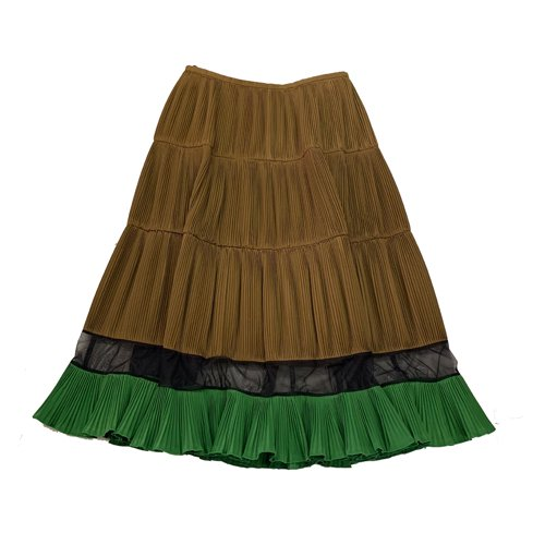 <img class='new_mark_img1' src='https://img.shop-pro.jp/img/new/icons16.gif' style='border:none;display:inline;margin:0px;padding:0px;width:auto;' />TOGA PULLA Polyester taffeta skirt トーガ プルラ スカート