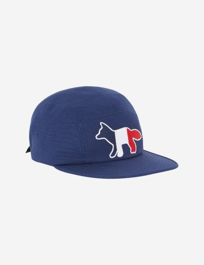 <img class='new_mark_img1' src='https://img.shop-pro.jp/img/new/icons16.gif' style='border:none;display:inline;margin:0px;padding:0px;width:auto;' />MAISON KITSUNE 5P TRICOLOR FOX CAP トリコロール フォックス キャップ