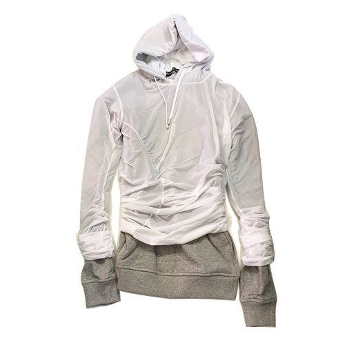 <img class='new_mark_img1' src='https://img.shop-pro.jp/img/new/icons16.gif' style='border:none;display:inline;margin:0px;padding:0px;width:auto;' />Y/PROJECT CONDOME HOODIE ワイプロジェクト コンドームフーディ