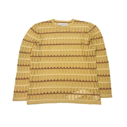 <img class='new_mark_img1' src='//img.shop-pro.jp/img/new/icons16.gif' style='border:none;display:inline;margin:0px;padding:0px;width:auto;' />CHIN MENSWEAR WHEAT KNITTED チンメンズウェアー ニット