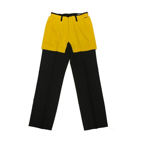 <img class='new_mark_img1' src='https://img.shop-pro.jp/img/new/icons16.gif' style='border:none;display:inline;margin:0px;padding:0px;width:auto;' />CHIN MENSWEAR SHORT HALF-LINED TROUSERS チンメンズウェアー ハーフラインパンツ