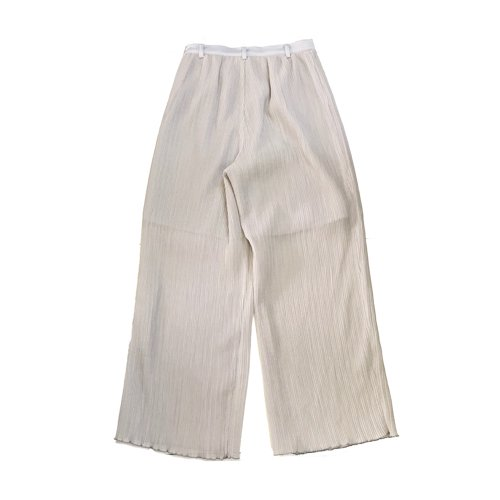 <img class='new_mark_img1' src='https://img.shop-pro.jp/img/new/icons16.gif' style='border:none;display:inline;margin:0px;padding:0px;width:auto;' />MURRAL PLEATS PANTS ミューラル プリーツパンツ