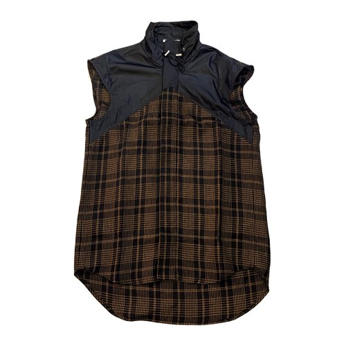 <img class='new_mark_img1' src='//img.shop-pro.jp/img/new/icons16.gif' style='border:none;display:inline;margin:0px;padding:0px;width:auto;' />DELADA SHIRTS VEST WITH NYLON TURTLENECK デラダ シャツベスト ナイロンタートルネック