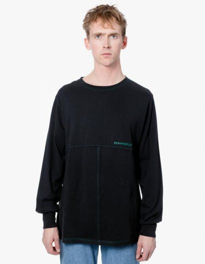 <img class='new_mark_img1' src='https://img.shop-pro.jp/img/new/icons16.gif' style='border:none;display:inline;margin:0px;padding:0px;width:auto;' />ECKHAUS LATTA LAPPED LONGSLEEVE エコーズラッタ ラップロングスリーブ