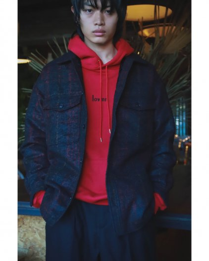 <img class='new_mark_img1' src='https://img.shop-pro.jp/img/new/icons16.gif' style='border:none;display:inline;margin:0px;padding:0px;width:auto;' />LOWNN  ROGO HOODIE  ローン ロゴ フーディー