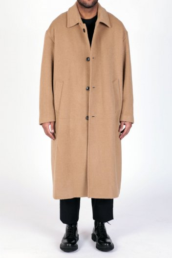 <img class='new_mark_img1' src='//img.shop-pro.jp/img/new/icons16.gif' style='border:none;display:inline;margin:0px;padding:0px;width:auto;' />LOWNN WOOL/MOHAIR OVERCOAT  ローン モヘア オーバーコート
