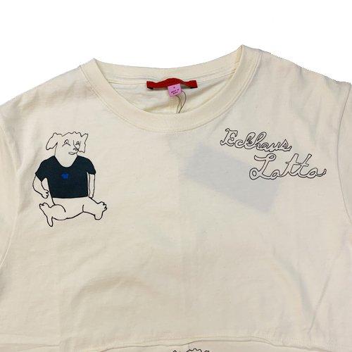 ECKHAUS LATTA LAPPED TEE エコーズラッタ ラップドTシャツの通販、取扱、店舗、大阪なら