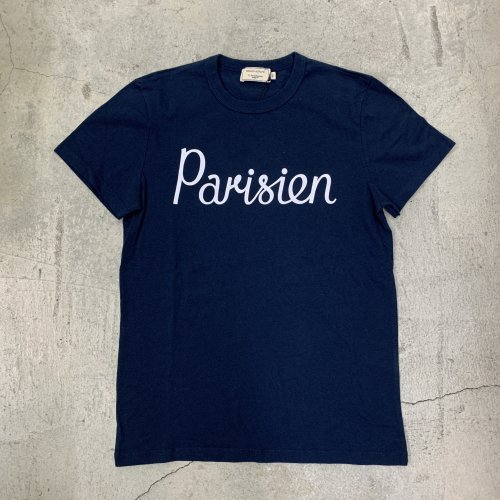 <img class='new_mark_img1' src='https://img.shop-pro.jp/img/new/icons16.gif' style='border:none;display:inline;margin:0px;padding:0px;width:auto;' />MAISON KITSUNE TEE-SHIRT PARISIEN メゾンキツネ Tシャツ パリジャン