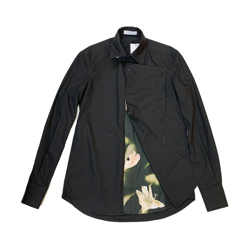 <img class='new_mark_img1' src='https://img.shop-pro.jp/img/new/icons16.gif' style='border:none;display:inline;margin:0px;padding:0px;width:auto;' />DELADA EXPOSED LINING COTTON SHIRT デラダ 2WAY シャツ