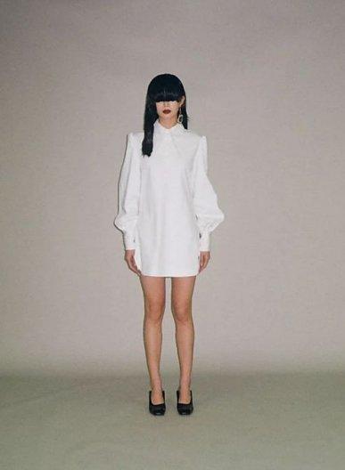 JOHN WHITE DENIM SHIRT DRESS ジョン ホワイトデニム シャツドレス