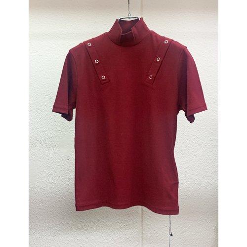 JOHN LAWRENCE SULLIVAN SHOULDER BUTTON HI NECK T-SHIRT ジョンローレンスサリバンス ショルダー ボタン Tシャツ