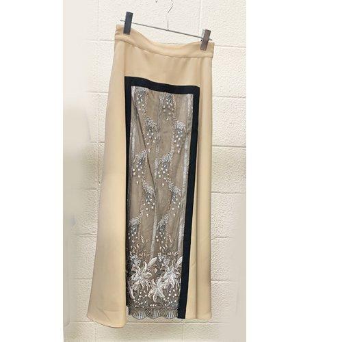 【ご予約】MURRAL FRAMED FLOWER SKIRTミューラル フレームド フラワー スカート