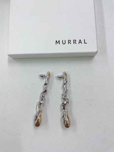 MURRAL DEW DROP EAR ACCESORY ミューラル ドロップ ピアス