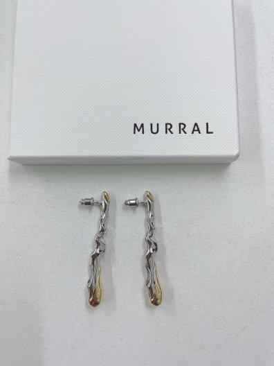 MURRAL SMALL DEW DROP EAR ACCESORY ミューラル スモール ドロップ ピアス/イヤリング