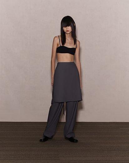 JOHN Skirt Effect Trousers ジョン スカート エフェクトトラウザー