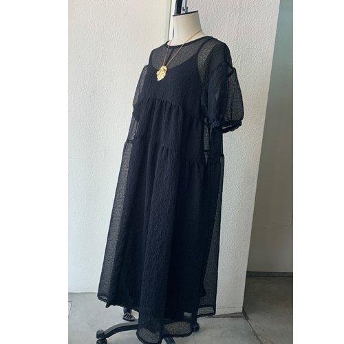 tsuyoshi yao tokyo Gather Dress ツヨシ ヤオ ギャザードレス