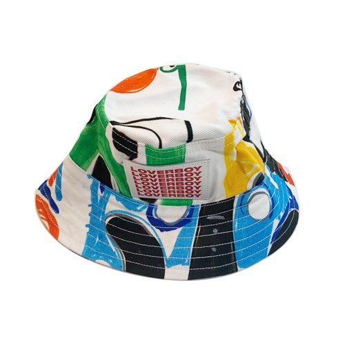 <img class='new_mark_img1' src='https://img.shop-pro.jp/img/new/icons16.gif' style='border:none;display:inline;margin:0px;padding:0px;width:auto;' />CHARLES JEFFREY BUCKET HAT  チャールズ ジェフリーラバーボーイ バケットハット