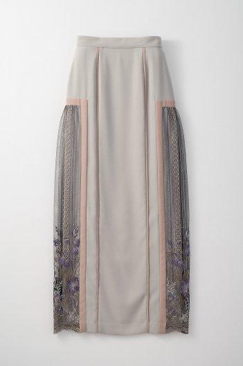 MURRAL FRAMED FLOWER SKIRT ミューラル フレーム フラワー スカート