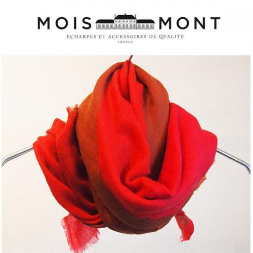 Moismont モアモン ストール Design60 Geometric 幾何学柄