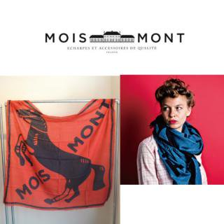 Moismont モアモン ストール Design61  Horse 馬柄