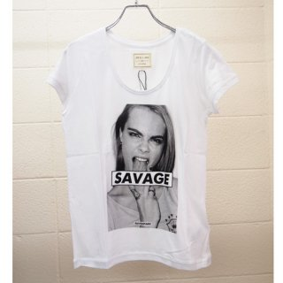 <img class='new_mark_img1' src='https://img.shop-pro.jp/img/new/icons16.gif' style='border:none;display:inline;margin:0px;padding:0px;width:auto;' />ELEVEN PARIS WOMENS Cara Delevingne  T-shirt イレブン・パリ カーラ・デルヴィーニュ Tシャツ