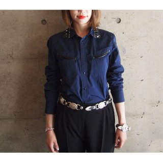 <img class='new_mark_img1' src='https://img.shop-pro.jp/img/new/icons16.gif' style='border:none;display:inline;margin:0px;padding:0px;width:auto;' />TOGA PULLA WESTERN SHIRTS トーガプルラ ウエスタンシャツ