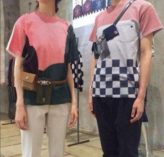 TOGA VIRILIS PLAID T-Shirts トーガ ヴィリリース Tシャツ