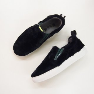 <img class='new_mark_img1' src='//img.shop-pro.jp/img/new/icons16.gif' style='border:none;display:inline;margin:0px;padding:0px;width:auto;' />MSGM FUR SLIP-ON PULL ON SNEAKERS エムエスジィエム ファープルオンスリッポン スニーカー