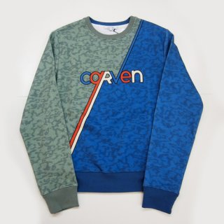<img class='new_mark_img1' src='//img.shop-pro.jp/img/new/icons16.gif' style='border:none;display:inline;margin:0px;padding:0px;width:auto;' />CARVEN HOMME MOTTELON SKATE SWEAT SWEAT カルヴェン オム 配色スウェット