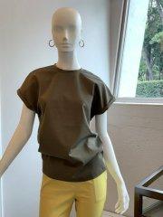 オリジナルTシャツ 袖折(カーキ)