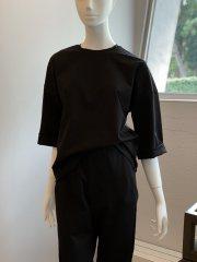 オリジナルTシャツ 7分袖(ブラック)