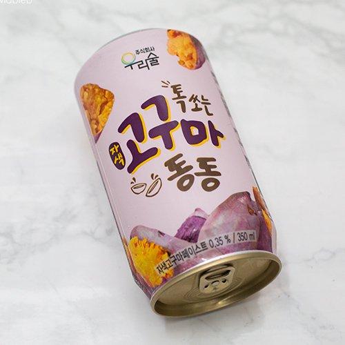 しゅわっと 微炭酸 缶マッコリ さつま芋 350ml