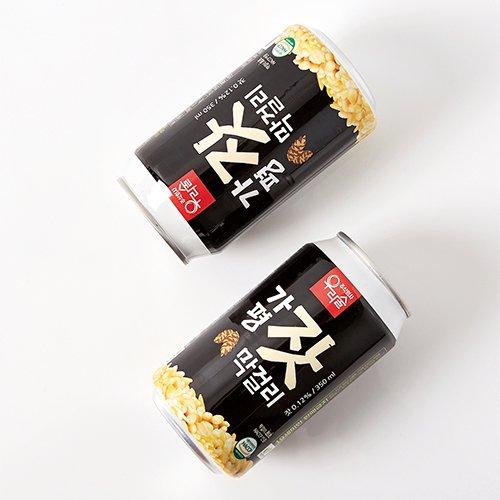 しゅわっと 微炭酸 缶マッコリ 松の実 350ml