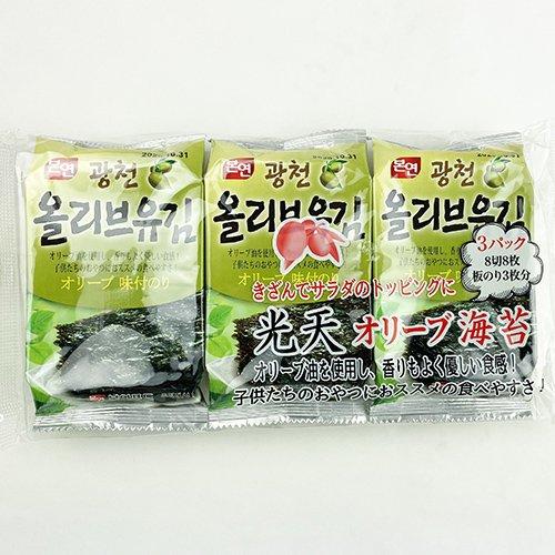 光天 オリーブ由 海苔 72袋