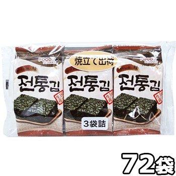 焼き立て 韓国伝統海苔 72袋