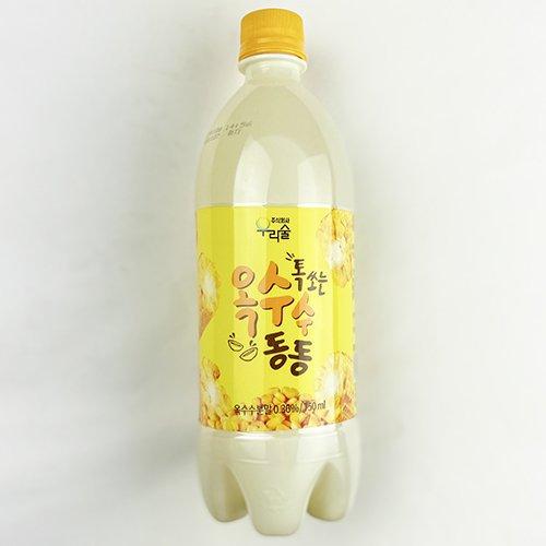 【新商品】ウリスル しゅわっと コーン マッコリ 750ml