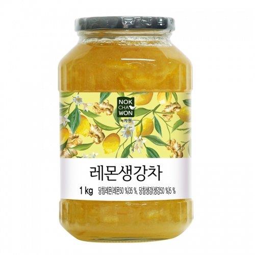緑茶園 レモン 生姜 茶 1kg