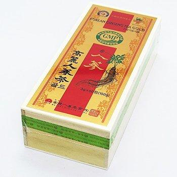 GIFT用 木箱 高麗人参茶 50包