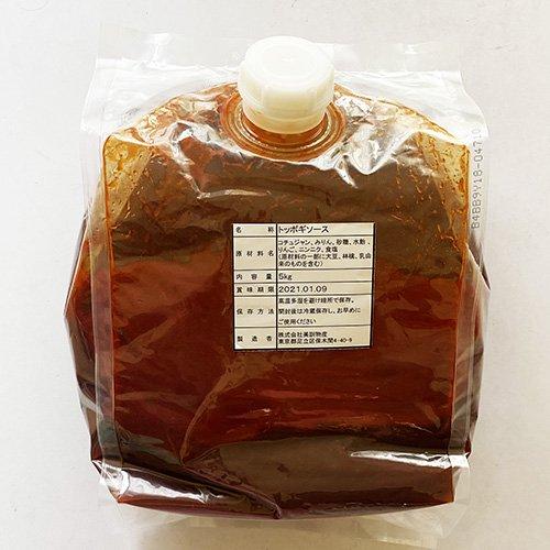 【送料無料】業務用 昔の トッポキ ソース 5kg