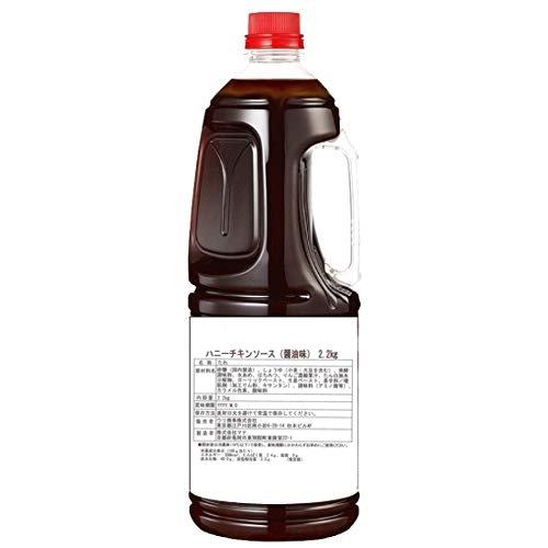 国内生産 WOORI ハニー チキン ソース 醤油味 2.2kg