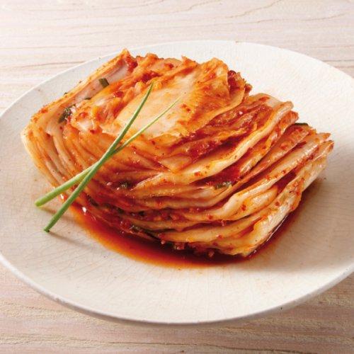 国内生産 手作り ウリ 白菜 キムチ カット 1kg